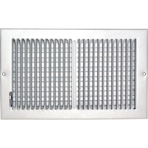 Sidewall Ceiling Register Vents speedi grille 8 in x 14 in ceiling sidewall vent