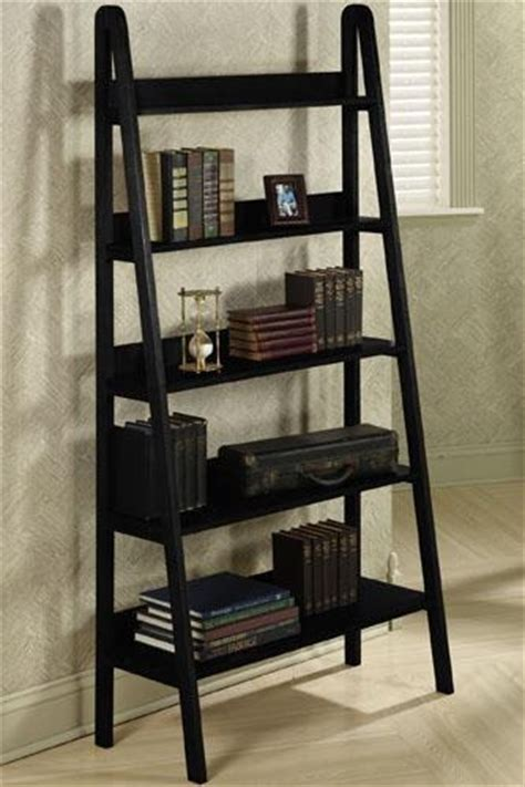 How To Build A Leaning Ladder Shelf by Get The Look Leaning Ladder Shelves