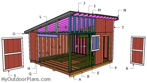 now eol plans for lean to shed free 16x16 lean to shed free diy plans myoutdoorplans