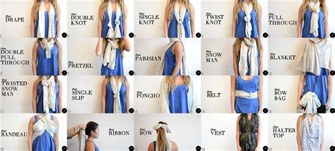 need a new way to tie your scarf we ve got 20 ways df
