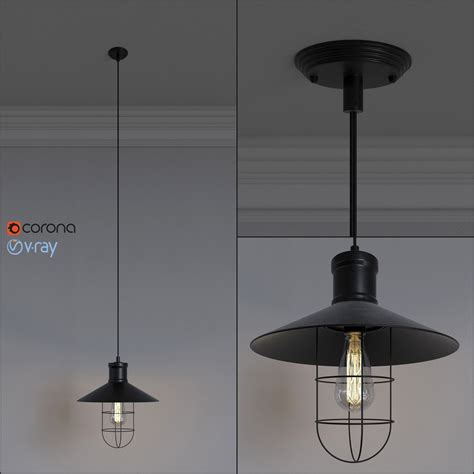 Pendant Light 3d Model Loft Design Spl 1 Pendant L 3d Model Max Obj Fbx Cgtrader