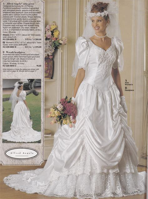 Wedding Dresses Jcpenney by From A Mid 90 S Jc Penney Bridal Catalog A Pretty