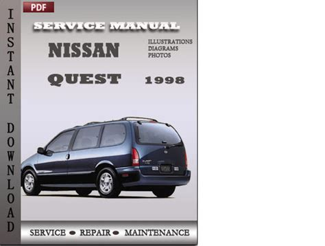 old cars and repair manuals free 1988 mercury sable spare parts catalogs service manual 1998 nissan quest free repair manual old car manuals online 1999 nissan quest