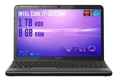 Laptop Sony I7 Ram 8gb sony vaio sve1713 best gaming laptop i7 3632qm 8gb