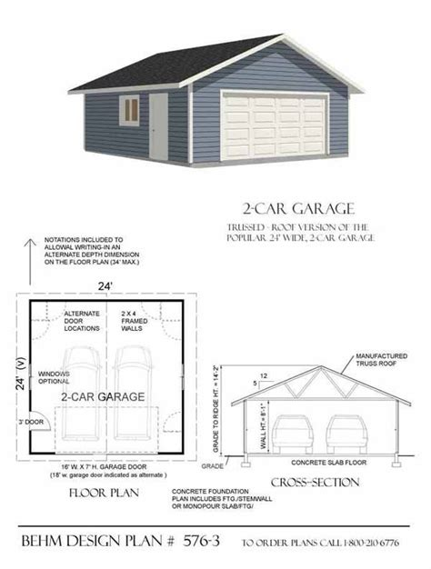 Two Car Garage Plans by 17 Images About Garage Plans By Behm Design Pdf Plans