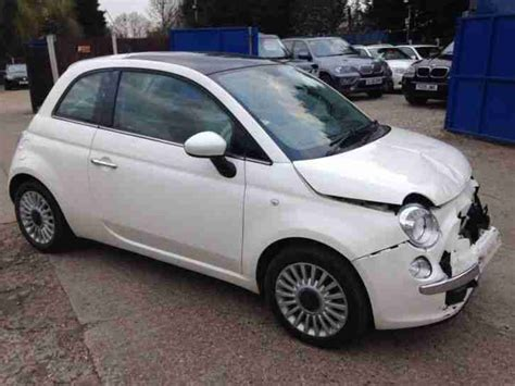 fiat spares fiat 500 lounge salvage damaged spares or repair bolt up