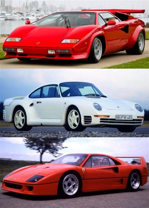 80s porsche 959 decission of the day 80s hypercars lamborghini