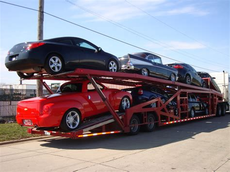 Infinity Auto Transport by Carrier Trailer Types Houston Auto Shipping Transport