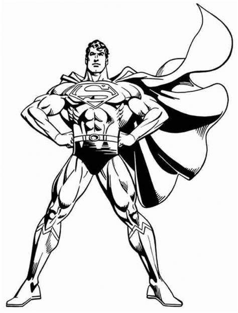 get this free superman coloring pages to print 29825