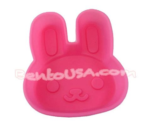 Silicon Die Cut Food Cup Tomica microwavable bento silicone food cup baking pink rabbit