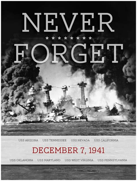 never forget quot a date which will live in infamy