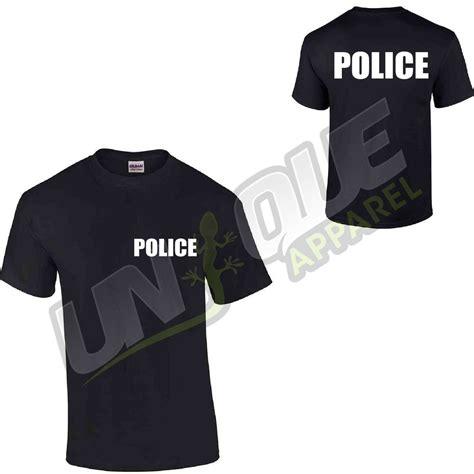 L P Kaos T Shirt Fbi t shirt top tshirt csi swat fbi security