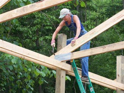 easiest    build  pole barn step  step home
