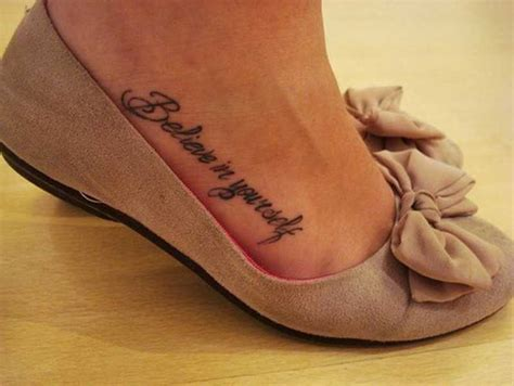 tattoo quotes on foot tumblr tatuagens frases