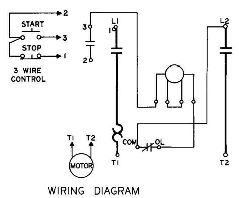 stop start wiring diagram single phase somurich