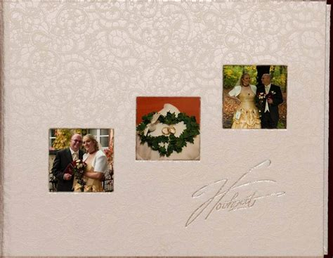 Fotoalbum Hochzeit by 1000 X