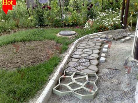 random paving concrete mold mould stepping garden