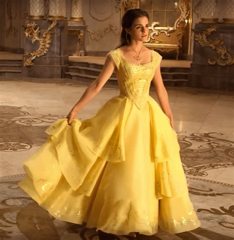beauty and the beast emma watson yellow dress siudy net emma s belle s yellow gown from beauty and the beast a
