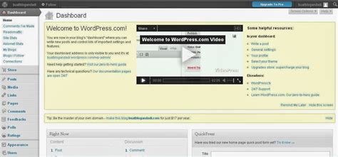 tutorial cara membuat blog di wordpress 5 tahap cara membuat blog di wordpress gratis tutorial