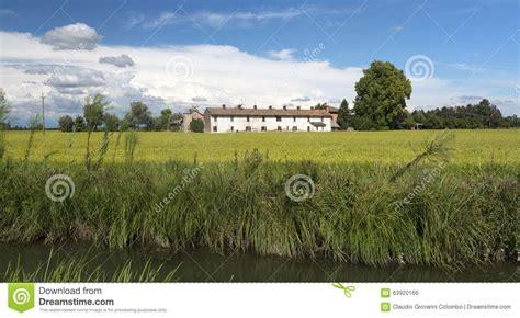 milan to pavia canal of bereguardo imilan stock photo image 63920166