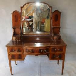 Vanity Chair On Wheels Edwardian Mahogany Dressing Table Dressing Tables