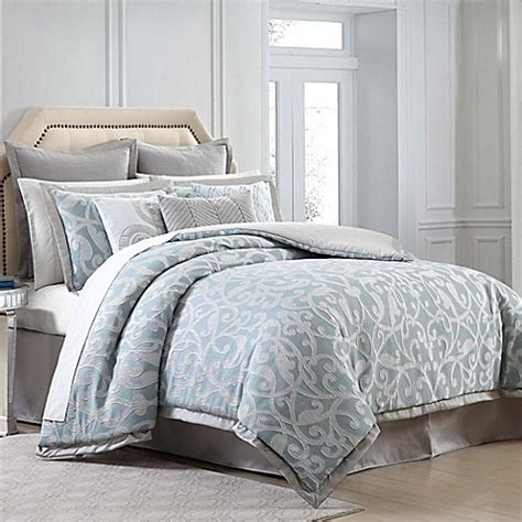 charisma comforter charisma home legacy comforter set in blue bed bath beyond