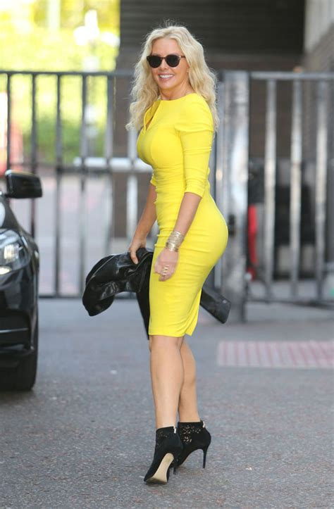 exclusive carol vorderman admits shes put  weight