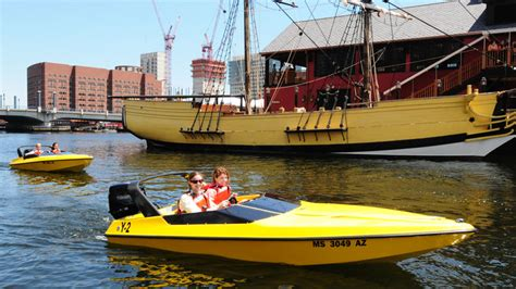 boston boat trips boston harbor mini speed boats boston wheretraveler