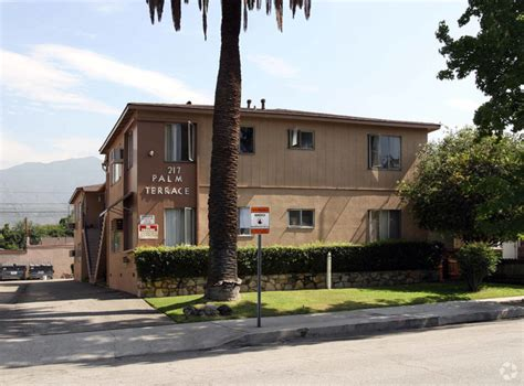 palm terrace apartments rentals monrovia ca