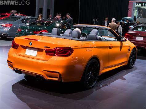 nyias bmw  convertible  fire orange