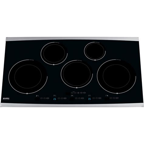 Induction Cooktop Sears kenmore elite 36 quot induction cooktop 4292 appliances cooktops electric cooktops