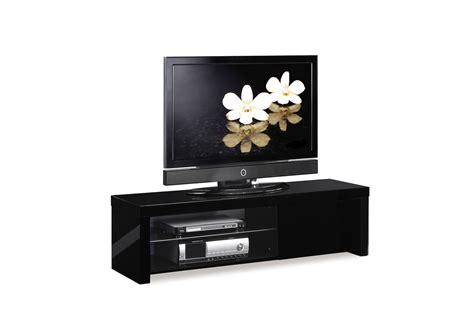Meuble Tv Design Noir by Meubles Tv Miliboo Pas Cher Meuble Tv Design Laqu 233 Noir