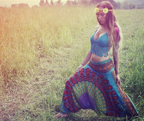 Handmade Hippie Clothes - handmade harem romper genie