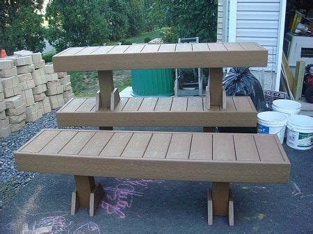 trex bench plans make benches from scrap composite decking outside ideas