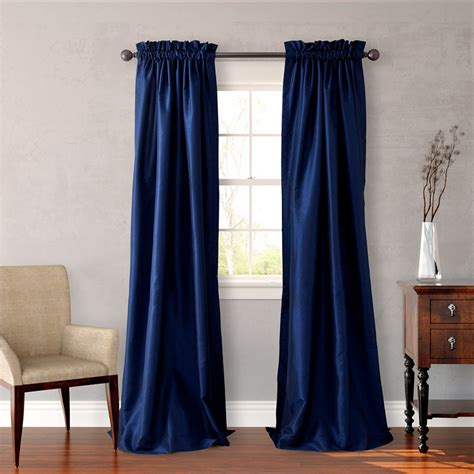 navy window curtains heritage landing navy window drapes from beddingstyle com