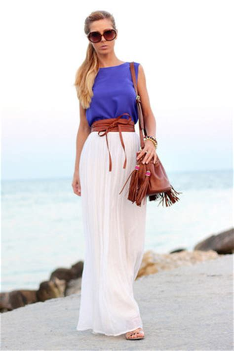 white maxi skirt how to wear and where to buy chictopia