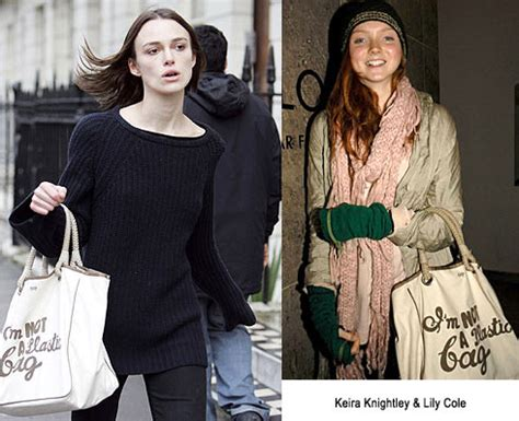 Is Anya Hindmarchs Im Not A Plastic Bag Tote Really Eco Friendly by Anya Hindmarch Quot I M Not A Plastic Bag Quot Tote Nitrolicious