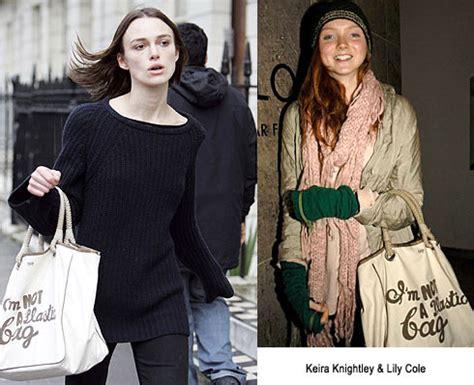Anya Hindmarchs Im Not A Plastic Bag Bag by Anya Hindmarch Quot I M Not A Plastic Bag Quot Tote Nitrolicious