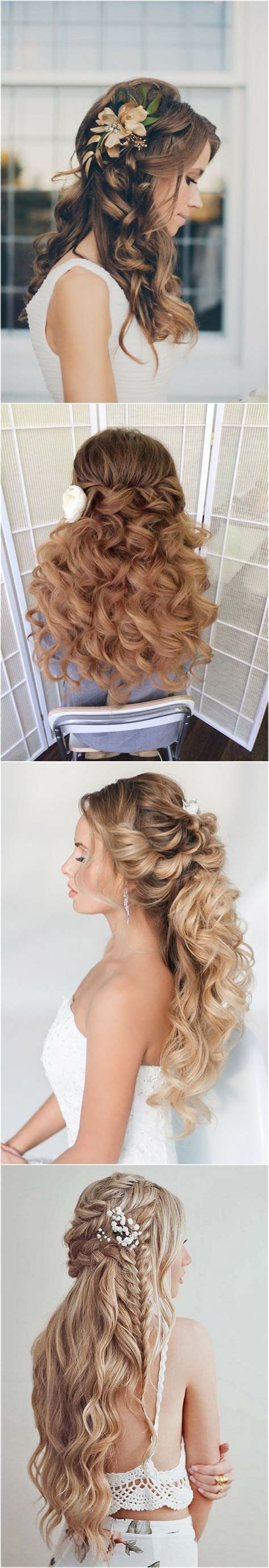 Wedding Hairstyles Half Up Tutorials by Wedding Hairstyles 40 Stunning Half Up Half Wedding