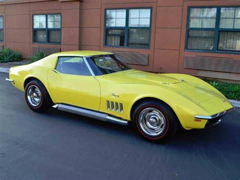 1969 chevy corvette 1969 chevrolet corvette for sale classiccars cc 971144