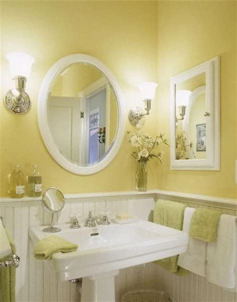 bloombety wainscoting in bathroom ideas with yellow best 25 yellow bathrooms ideas on pinterest