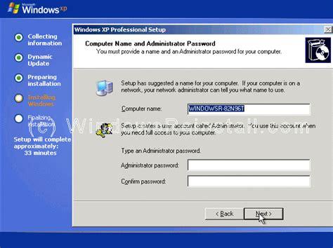 reset password windows xp media center edition windows xp media center edition fresh clean install from cd