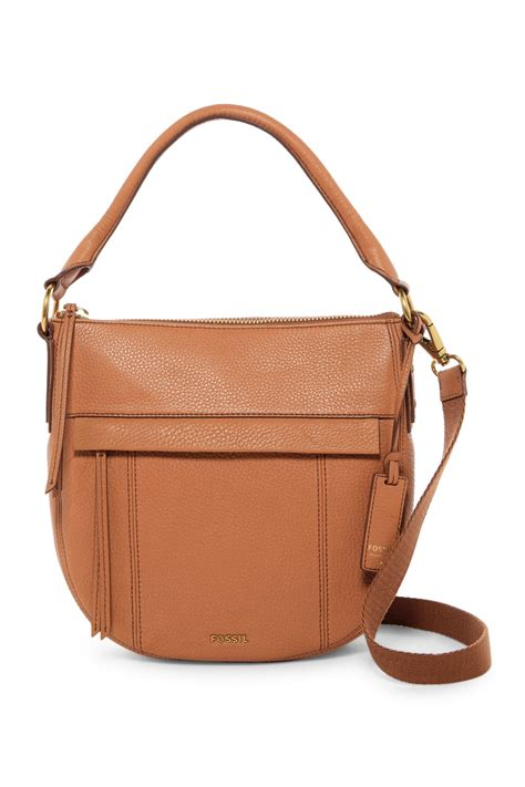 Tas Fossil Molly Large Hobo Saddle fossil molly small leather hobo nordstrom rack