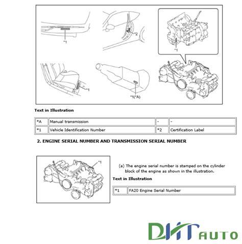 car service manuals pdf 2013 scion fr s electronic valve timing toyota gt 86 scion fr s 2013 service repair manuals automotive library