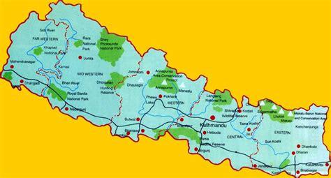 karten de nepal karten auf nepalwelt de