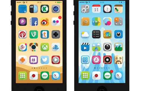 the best themes for iphone 5 top 5 best winterboard themes for ios 8 taig jailbreak