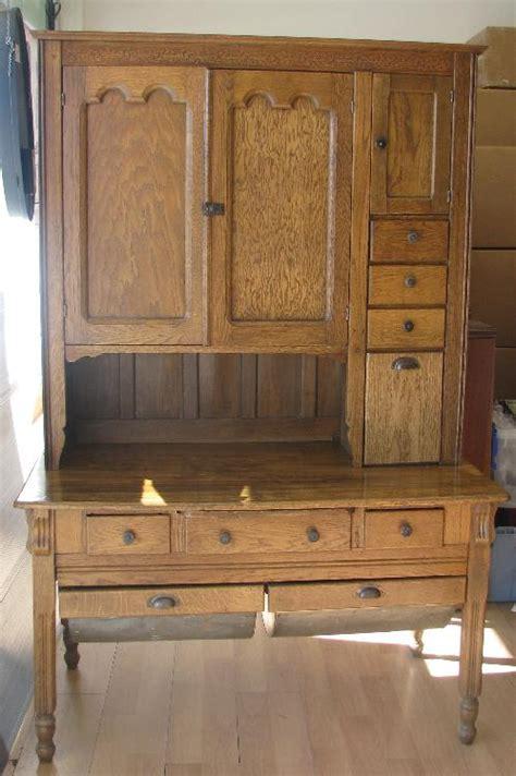 Oak Possum Belly Kitchen Cabinet furniture hq price guide
