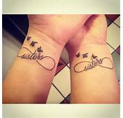 Matching Tattoo With My Sister Infinty Birds If I