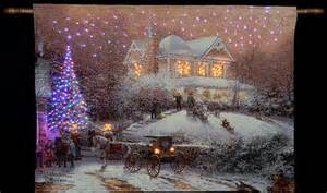 Pics Photos   Thomas Kinkade Victorian Christmas Wallpaper