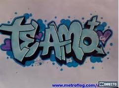 Imagenes Te Amo Graffiti